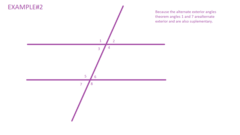 Mrwadeturner consecutive and alternate exterior angles for Exterior angle theorem
