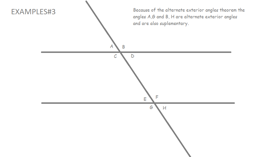 Mrwadeturner consecutive and alternate exterior angles Alternate exterior angles conjecture