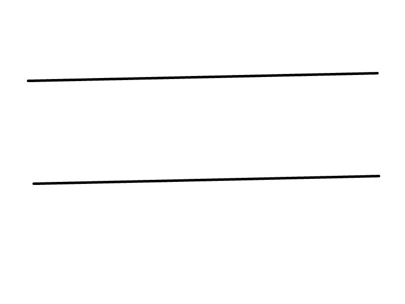 how to tell if two lines are parallel