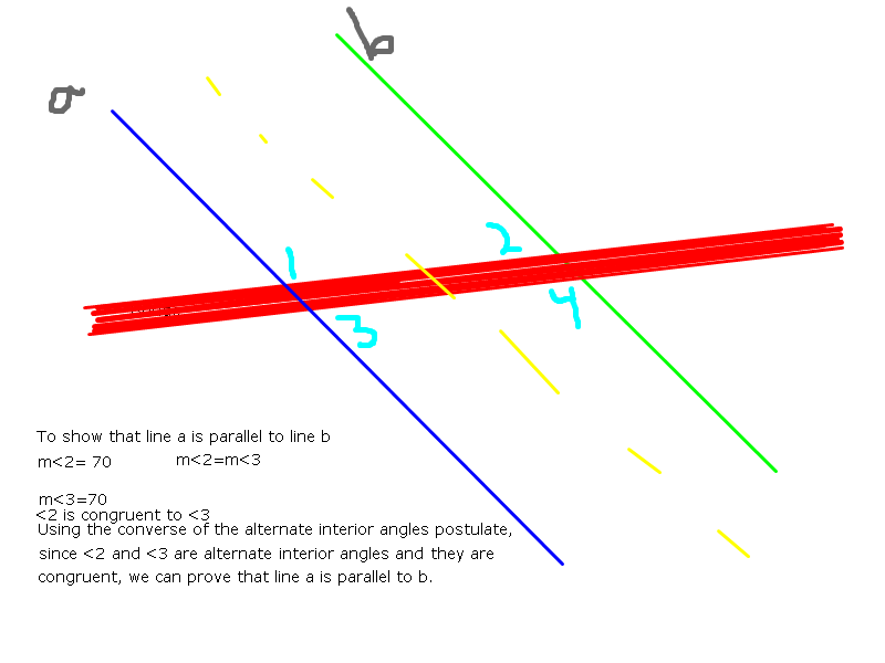 The Converse Of The Alternate Interior Angles Says: When 2 Lines Get Cut By  A Transversal, So That 2 Alternate Interior Angles Are Formed, And If They  Are ...