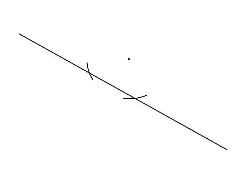 Drawing Parallel Lines With A Compass : Mrwadeturner m parallel and perpendicular lines