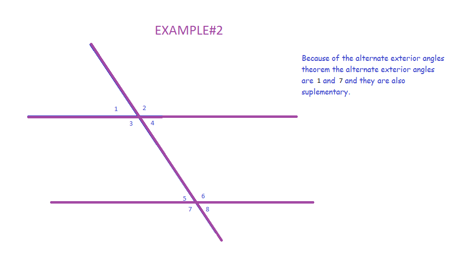Mrwadeturner Consecutive And Alternate Exterior Angles