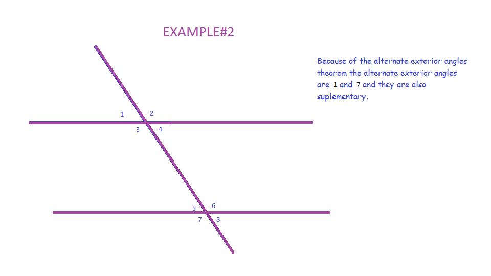 Mrwadeturner Consecutive And Alternate Exterior Angles