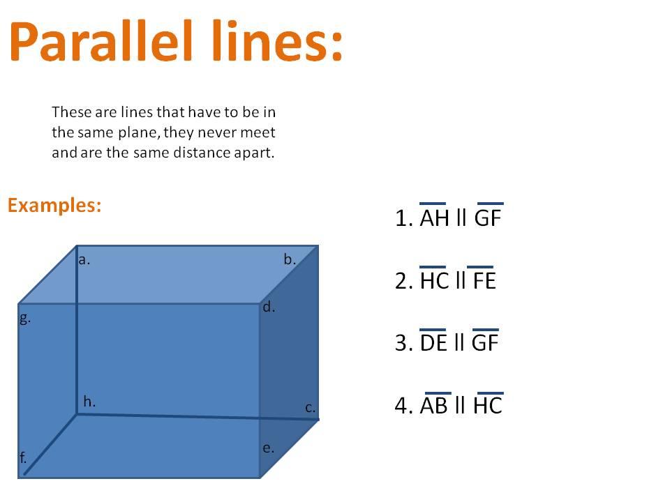 Mrwadeturner M1 Parallel And Perpendicular Lines